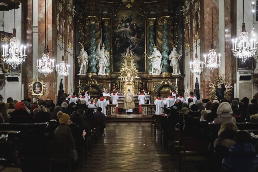 Inauguración de la Gruta de Lourdes