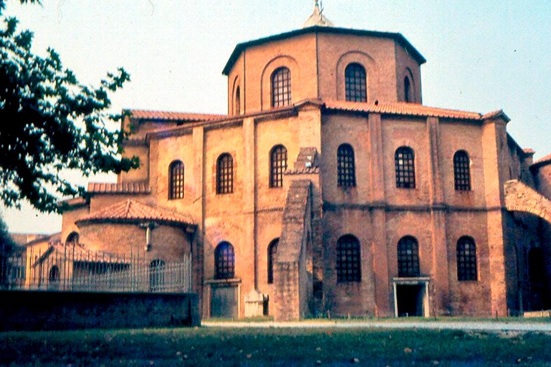 Rávena - Las primeras construcciones Cristianas