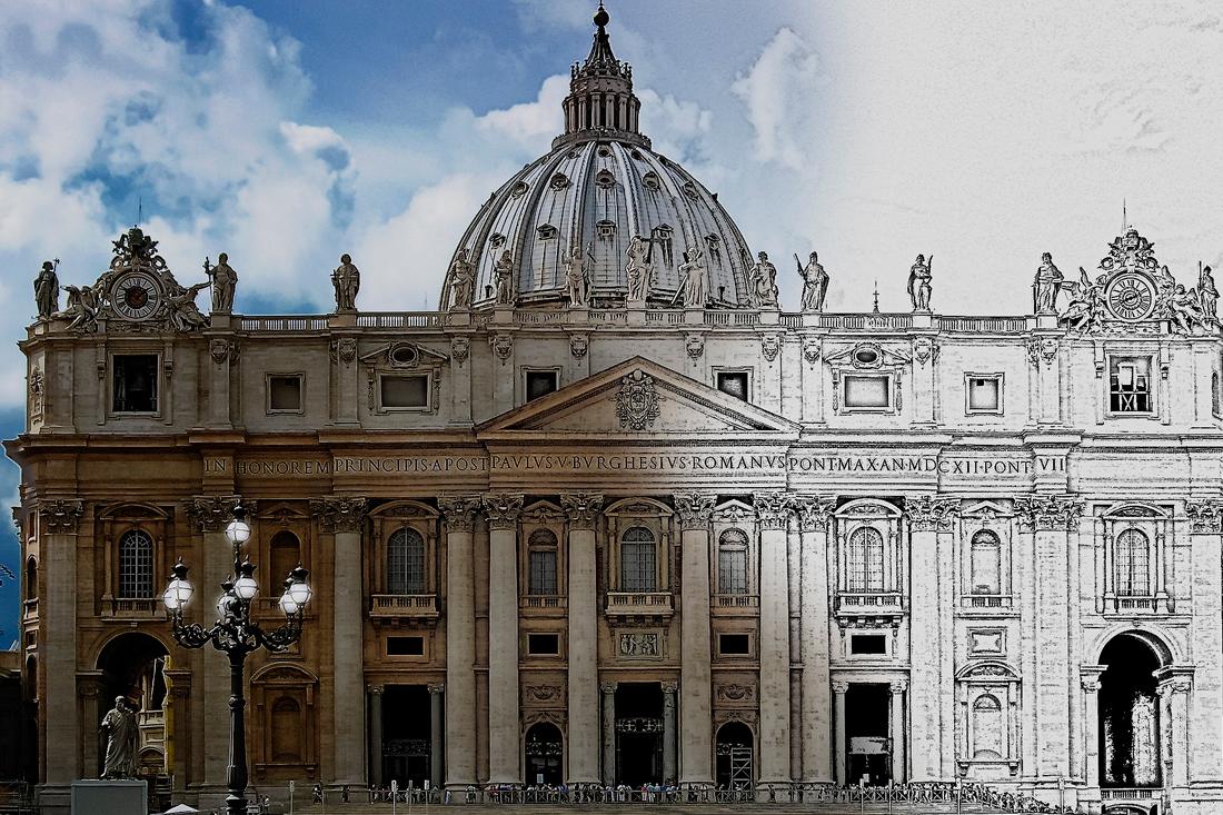 La Basílica de San Pedro del Vaticano