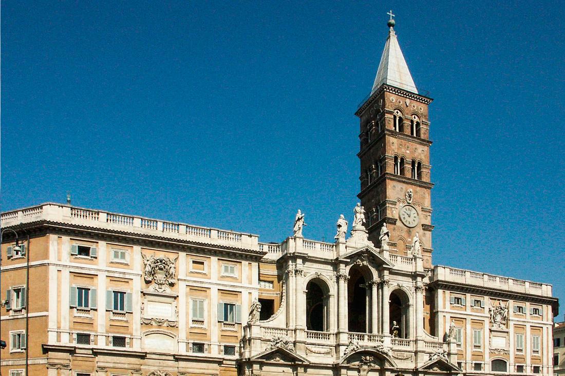 La Basílica Papal de Santa María la Mayor