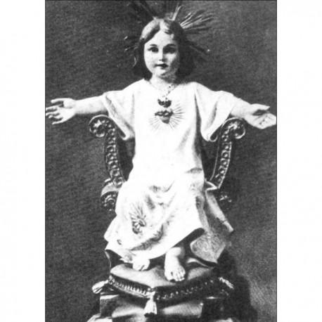 NIÑO JESÚS sentado en el trono