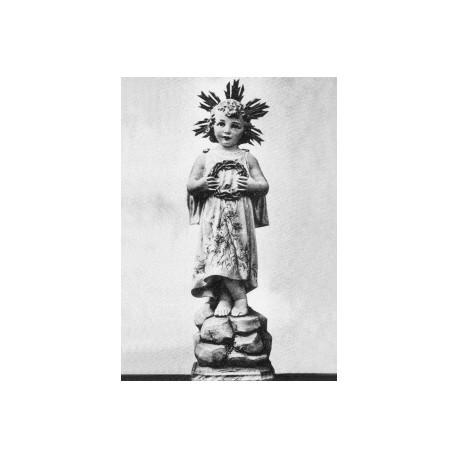 NIÑO JESÚS con corona de espinas