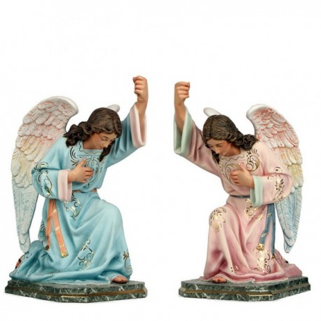 ANGELES PORTACANDELABROS