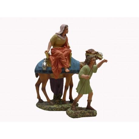 HEBREA con camello y mozo