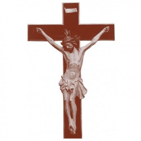 CRUCIFIJO Muerto con cruz rustica