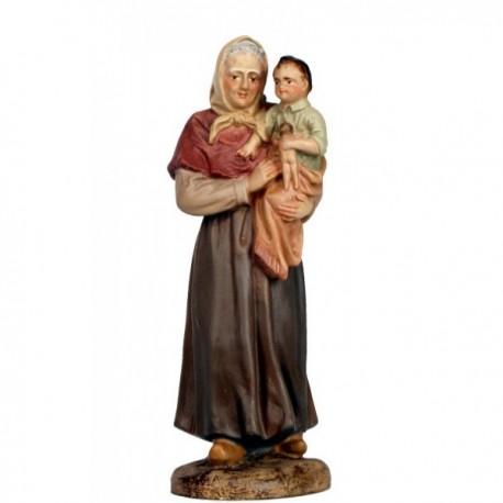 ABUELA con nieta en brazos