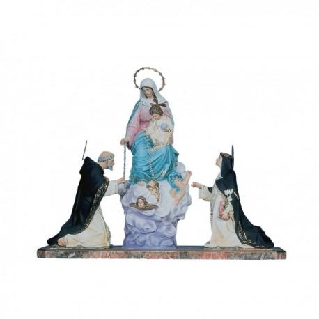 ROSARIO, VIRGEN DEL (4 figuras)