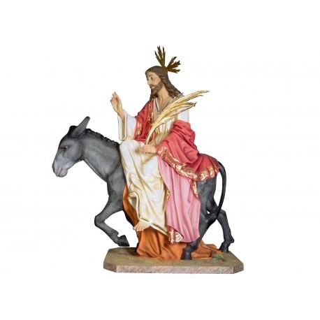 JESUS EN SU ENTRADA A JERUSALÉN